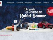 Auto-Gewinnspiel Nordsee Rubbelsommer Mini Cooper gewinnen