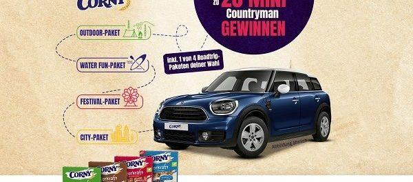 Autogewinnspiel Corny 20 Mini Countryman