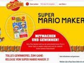 Call a Pizza Gewinnspiel 6 NINTENDO Switch mit SUPER MARIO MAKER 2