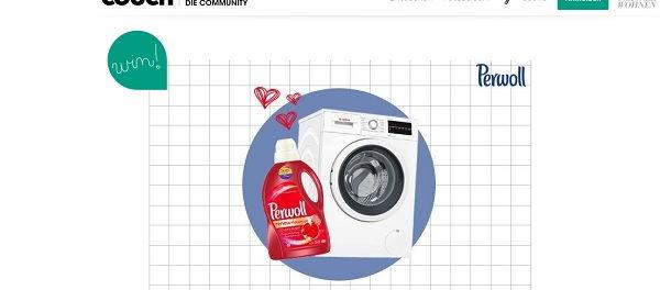 Couch Magazin und Perwoll Gewinnspiel Bosch Waschmaschine