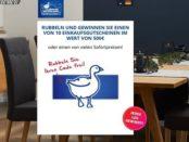 Dänisches Bettenlager Gewinnspiel Online Rubbellose Einkaufsgutscheine