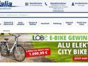 E-Bike Gewinnspiel Westfalia Versand Alu Elektro City Bike