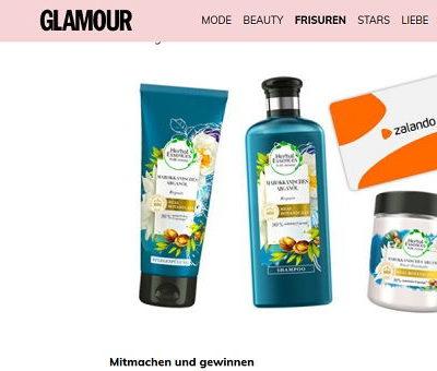 Glamour Gewinnspiel - Zalando Gutscheine und Herbal Essences Haarpflege