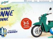 Glashäger Gewinnspiel 3 Elektro-Schwalbe Motorroller und weitere Preise