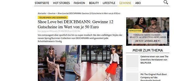 Magazin Gutscheine Gewinnspiele 12 Deichmann Grazia 2WIYeDEH9