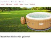 Kaufland Gewinnspiele Outdoor-Whirpool mit Massagefunktion