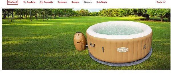 Kaufland Gewinnspiele Outdoor-Whirlpool mit Massagefunktion