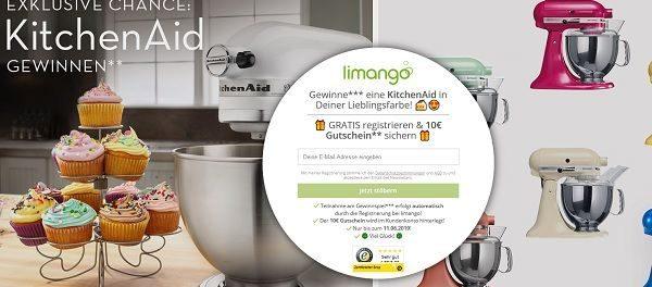 KitchenAid Küchenmaschine Gewinnspiel bei Limango