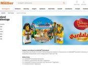 Legoland Freizeitpark Gewinnspiel Müller Drogerien