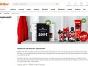 Müller Drogerie Gewinnspiel Brisk Produkt-Sets und Modomoto Gutschein