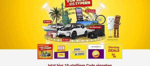 Netto Deutschland Card Gewinnspiel Auto und Reisen gewinnen