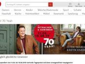 Otto Gewinnspiel 70. Geburtstag Guido Maria Kretschmar Fashion Show
