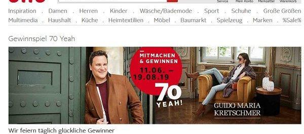 best website f3e6b deb53 Otto Gewinnspiel 70. Geburtstag Guido Maria Kretschmar ...