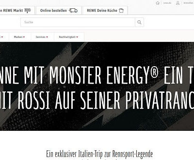 REWE Gewinnspiel Italien Reise und Valentino Rossi Treffen
