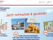 Rossmann Gewinnspiel Rügen Familienreise und Super Sand für Kinder