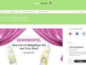 VeggieSearch Gewinnspiel Babypflege-Sets von Truly Great gewinnen
