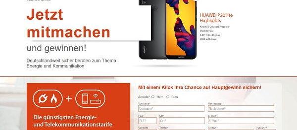 analysa Gewinnspiel Huawei P20 lite Smartphone