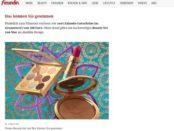 freundin Gewinnspiel 500 Euro Zalando Gutscheine und MAC Beauty Sets