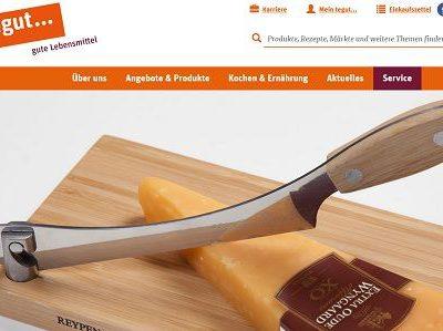 tegut Gewinnspiel Käsemesser und Käse Verlosung