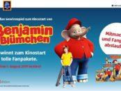 Aldi Süd Gewinnspiel Benjamin Blümchen Fanpakete