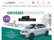Auto-Gewinnspiel Mia Moda Renault Twingo oder 10.000 Euro Bargeld