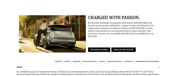 Auto-Gewinnspiel – Mini Electric 6 Monate kostenlos fahren