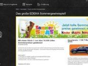 Autogewinnspiel Edeka kinder hanuta und duplo VW T-ROC IQ