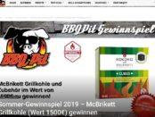 BBQ Pit Gewinnspiel Grillpakete Verlosung 2019