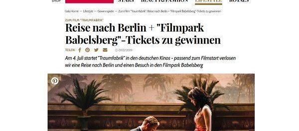 Berlin Reise Gewinnspiel Gala Traumfabrik Verlosung