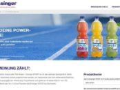Ensinger Gewinnspiel Sport ISO-Drinks Produktpakete