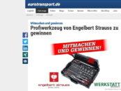 Eurotransport Gewinnspiel Engelbert Strauss Werkzeugkoffer