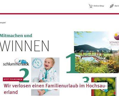 Familienurlaub Gewinnspiel Rossmann Elternmagazin