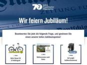 Frankfurter Allgemeine Zeitung Jubiläums Gewinnspiel