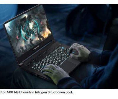 GQ Magazin Gewinnspiel Acer Triton 500 Notebook