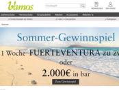 Geld oder Reise Gewinnspiel Vamos Schuhe Onlineshop