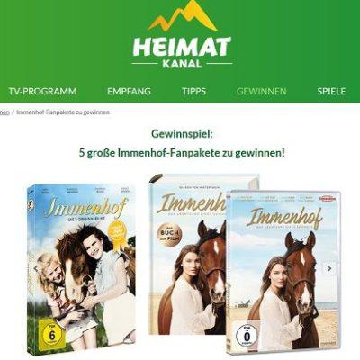 Heimatkanal Gewinnspiel 5 Immenhof Fanpakete