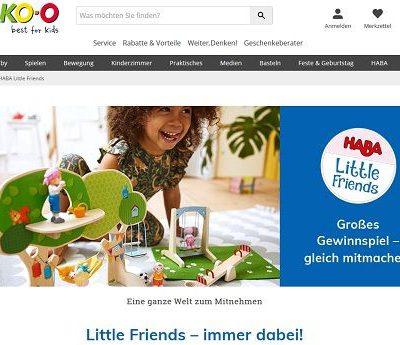 JAKO-O Gewinnspiel Little Friends Spielzeug-Sets