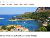 Kaufland Gewinnspiel Rhodos Reise für 2 Personen gewinnen