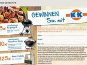 Klaas und Kock Gewinnspiel Landmann Kugelgrill