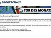 Knaus Wohnmobil Gewinnspiel Sportschau Tor des Monats