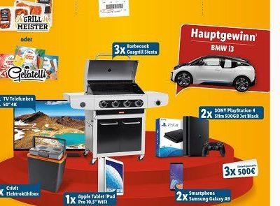 LIDL Sommer-Gewinnspiel BMW i3 und viele andere Sachpreise