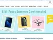 Lidl Foto Sommer Gewinnspiel Samsung Tablet oder Apple iPhone Xs