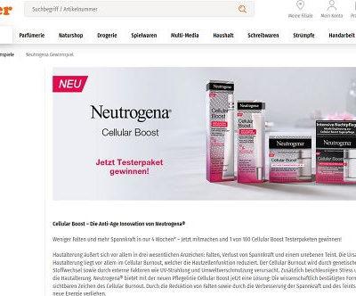 Neutrogena Gewinnspiel Müller Drogerien