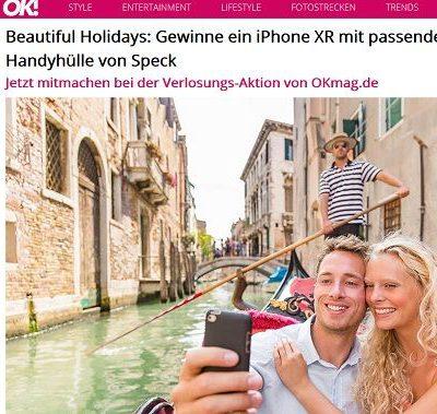OK Magazin Gewinnspiel Apple iPhone XR mit Handyhülle