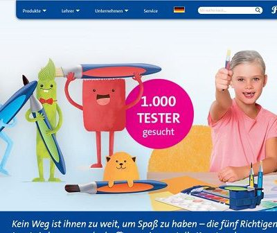 Pelikan Gewinnspiel 1.000 Produkttester Kinder-Pinselset