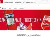REWE Gewinnspiel Campari Amalfi Flaschenkühler Verlosung