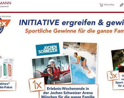 Rossmann Gewinnspiele elmex Produkte und Erlebnis-Wochenende
