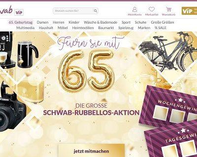 Schwab Versand Gewinnspiel Rubbellos-Aktion 2019