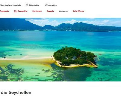Seychellen Reise Gewinnspiel Kaufland 2019