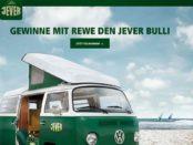 VW Bulli Auto-Gewinnspiel Jever Pils 2019